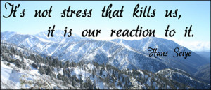 common misconception is that stress is something that happens to us ...