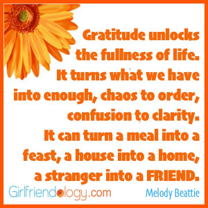 Thankful Thursday: Share your Girlfriend Gratitude | The New ...