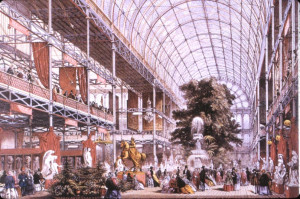 The Crystal Palace, Hyde Park, London, 1851. The Crystal Palace was ...