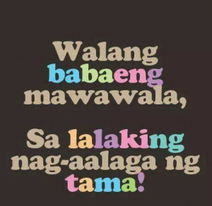 Patama Quotes: Malandi tagalog quotes