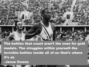 Jesse Owens - Quote