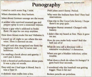 Here are some great puns to make you laugh.