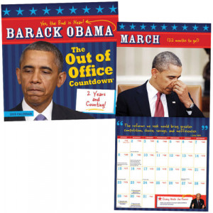 obama 2015 out of office countdown 2015 calendar w quotes obama 2015 ...