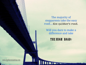 Taking the High Road ~ Blended Family Ministry