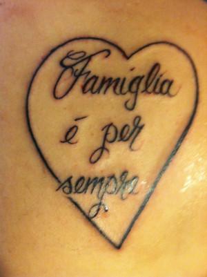 Italian Quotes Tattoo, Foreign Languages Tattoo, Italian Tattoo Quotes ...