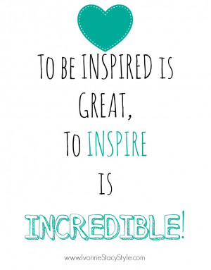 it really is incredible keeps me motivated and inspires me