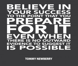 Success Poster Quotes Believe in your success