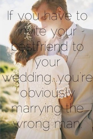 Marry your best friend!!