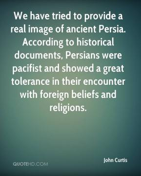 image of ancient Persia. According to historical documents, Persians ...