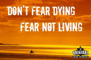 dont live in fear quotes quotesgram