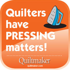 PressingMatters Free Quilty Quote to Share