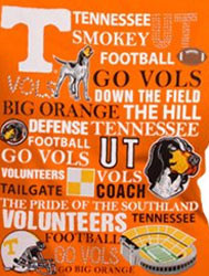Tennessee Volunteers Football T-Shirts - Go Big Orange Go Vols