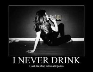 Never Drink