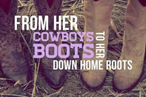 From her cowboys to her boots