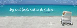 Soul Finds Rest Facebook Cover