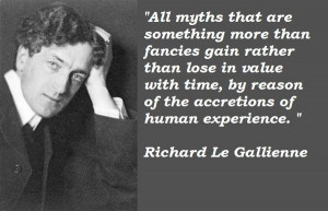 Richard le gallienne quotes 4