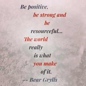 bear grylls quote