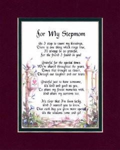 Happy Birthday Step Mom Poems