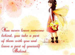 Quotes For Leaving Someone You Love