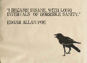 Edgar allan poe raven quote