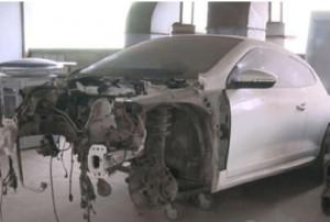Auto Repair Shop Quotes 260,000 RMB to Repair 230,000 RMB Car