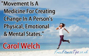 In A Person's Physical, Emotional & Mental States.