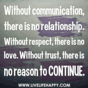 ... Family Barriers: Just Communicate #family #communication #quotes