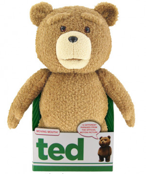 """... movie """"Ted"""", you can now own the cute and sarcastic teddy bear"""