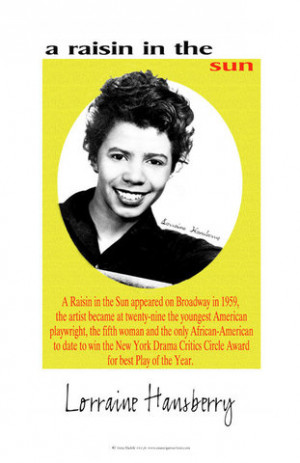 Lorraine Hansberry Posters: Remembering Lorraine Hansberry