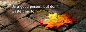 Good Life Quotes FB Cover Photos