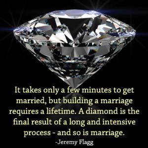 Jeremy Flagg - Diamond Marriage Quote