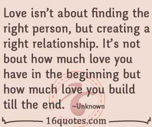 finding the right person quotes