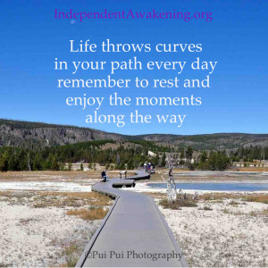 Quote of the Day: Life throws curves