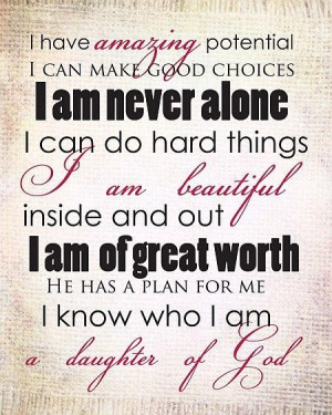 Being yourself girls quotes