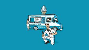minimalistic ice cream funny vanilla ice 1600x900 wallpaper