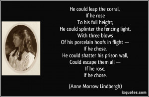 More Anne Morrow Lindbergh Quotes