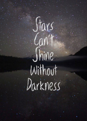 quote life motivation inspiration night stars dark inspirational ...
