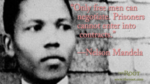 Quote of the Day: Nelson Mandela on Contracts