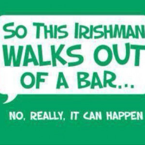 Irish jokes humor