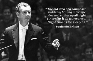 benjamin britten night time is for sleeping