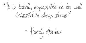 Great Shoe Quotes http://www.thebohmerian.com/2011/04/outspoken-cheap ...