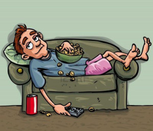 Relaxing Pictures Cartoon - HD Wallpapers
