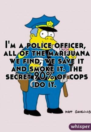 Police officer...