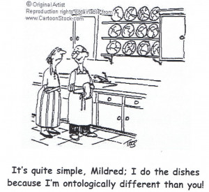 Priests Doing the Dishes