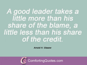 arnold h glasow quotes and sayings