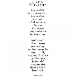 Quotes About Younger Sisters Quotes About Little Sisters