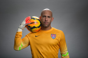 with U.S. MNT Goalkeeper Tim Howard