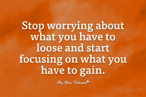 Stop Worrying About The...