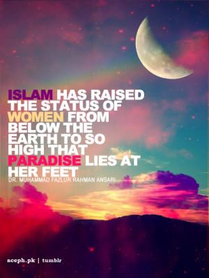 Status of Women in Islam.