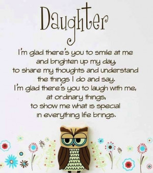 My Daughter Quotes And Sayings Daughter quotes